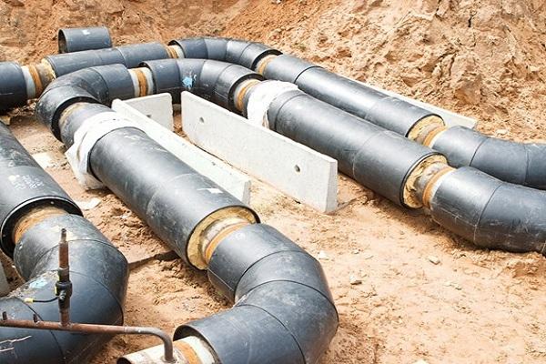 канал непроходной для трубопровода