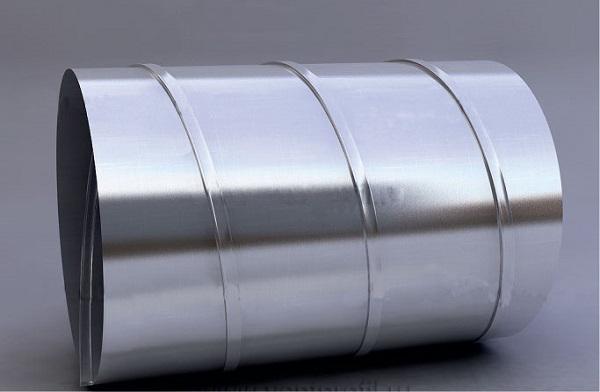 навивной воздуховод из стали
